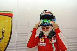 F1 exhibition: Felipe Massa