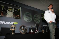 Jenson Button 2009 world championship celebration