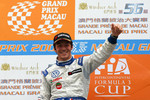 Podium: race winner Jean-Karl Vernay, Signature