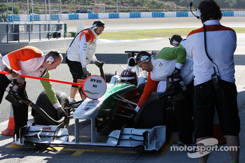 J.R. Hildebrand, Tests for Force India