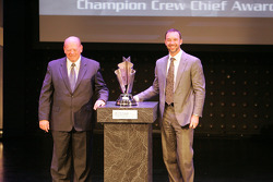 Myers Brothers Awards: champion crew chief award to Chad Knaus