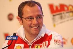 Stefano Domenicali press conference