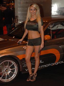 Motorgroup Promo girl