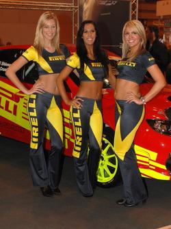 Pirelli Promo girls