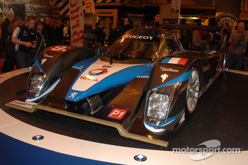 Peugeot's Winning Le Mans Car