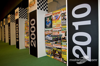 60 years of autosport display