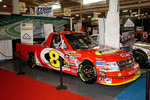 A NASCAR Camping World Truck Series truck.  You can see these run all over the US, including Darlington, the granddaddy of NASCAR super speedways