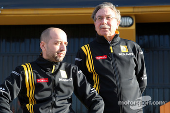 Gerard Lopez Genii Capital, Renault F1 Team, Jean-Francois Caubet, Managing director of Renault F1 Team