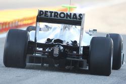 Mercedes GP, W01, rear, detail