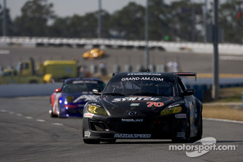 #70 SpeedSource Mazda RX-8: Jonathan Bomarito, Nick Ham, David Haskell, Sylvain Tremblay