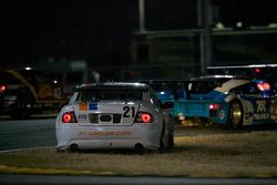 Spin for #21 Matt Connolly Motorsports Pontiac GTO.R: Mauro Casedei, Gabrio Rosa