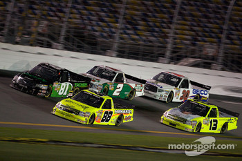 Matt Crafton, David Starr, Elliott Sadler, Johnny Sauter and Todd Bodine
