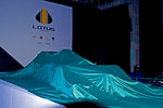 Lotus F1 car covered