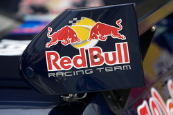 Rear wing on the Red Bull Racing Team Toyota