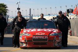 Stewart-Haas Racing Chevrolet out of technical inspection