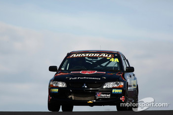 #4 Greg Murphy Racing, Mitsubishi Evo 8 RS: Jim Pollicina, John O'Dowd, Simon Middleton