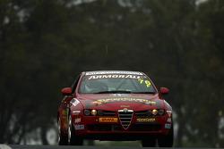 #76 Thomson Alfa, Alfa Romeo 159: Kean Booker, Rocco Rinaldo, David Stone