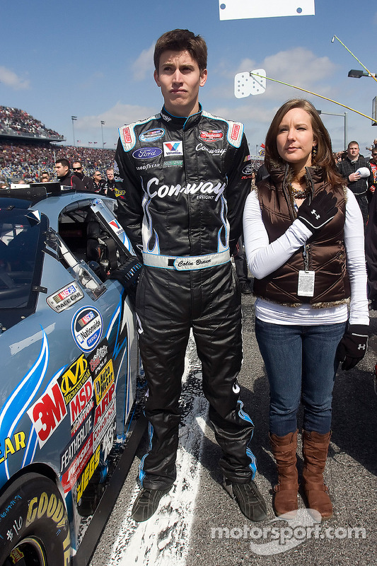 Colin Braun and girlfriend Melissa