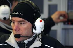 Jock Clear, Mercedes GP Petronas, Senior Race Engineer