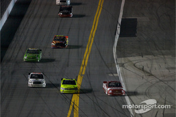 Todd Bodine, Matt Crafton and Donnie Neuenberger battle