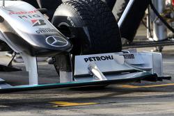 Mercedes GP Petronas, detail