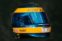 Helmet of Sébastien Bourdais