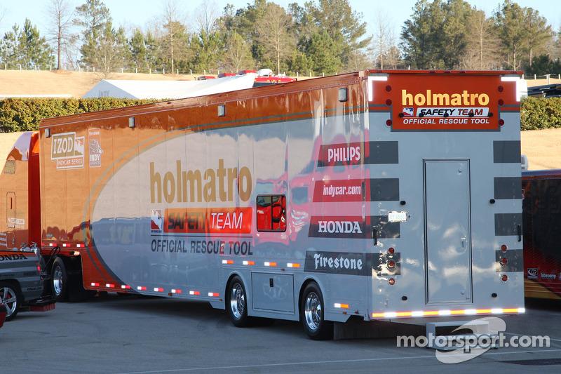 Holmatro Safety Team Transporter At Barber Open Test