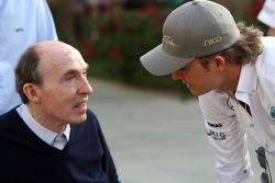 Sir Frank Williams, WilliamsF1 Team, Team Chief, Managing Director, Team Principal, Nico Rosberg, Mercedes GP