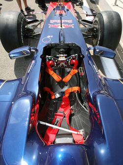 Toro Rosso cockpit