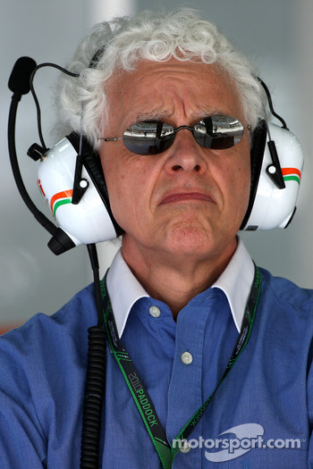 Jorge, father of Adrian Sutil, Force India F1 Team