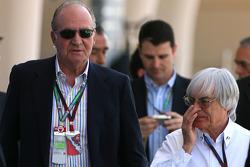 Juan Carlos I, King of Spain and Bernie Ecclestone