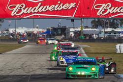 #17 Team Falken Tire Porsche 911 GT3 RSR: Bryan Sellers, Wolf Henzler, Patrick Pilet
