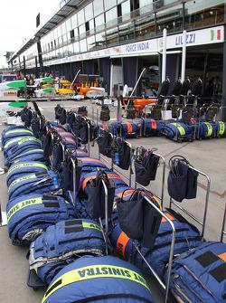 Race preparations, tyre blankets