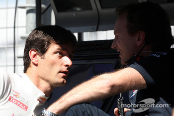 Mark Webber, Red Bull Racing, Christian Horner, Red Bull Racing, Sporting Director