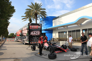 IndyCar Series show car