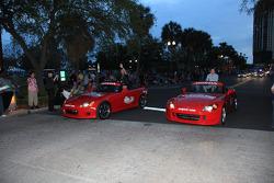 Pre-event party: Michael Andretti and Ryan Briscoe, Team Penske
