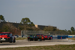 Race action into Turn 10