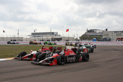Justin Wilson, Dreyer & Reinbold Racing, Marco Andretti, Andretti Autosport