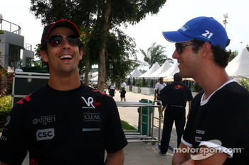 Lucas di Grassi, Virgin Racing, Bruno Senna, Hispania Racing F1 Team, HRT