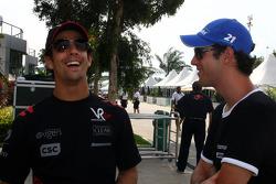 Lucas di Grassi, Virgin Racing, Bruno Senna, Hispania Racing F1 Team, HRT
