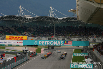 Rain is expected for this year's Malaysian GP