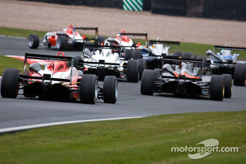 F3 cars into cascades