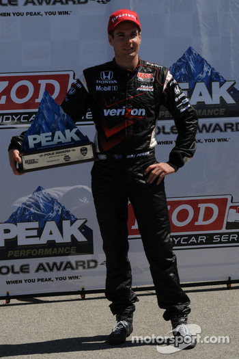Pole winner Will Power, Team Penske