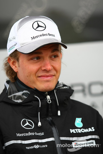 Nico Rosberg, Mercedes GP