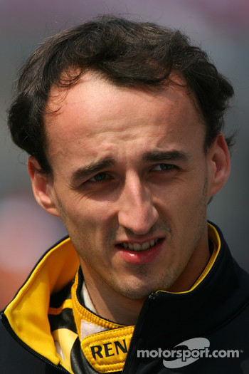 Robert Kubica, Renault F1 Team