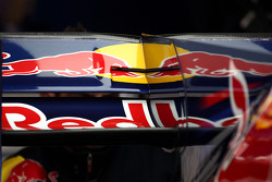 Sebastian Vettel, Red Bull Racing, rear wing detail