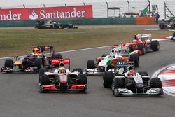 Lewis Hamilton, McLaren Mercedes, Michael Schumacher, Mercedes GP