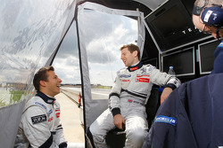 Christian Klien and Anthony Davidson