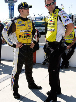 Paul Menard and Matt Puccia