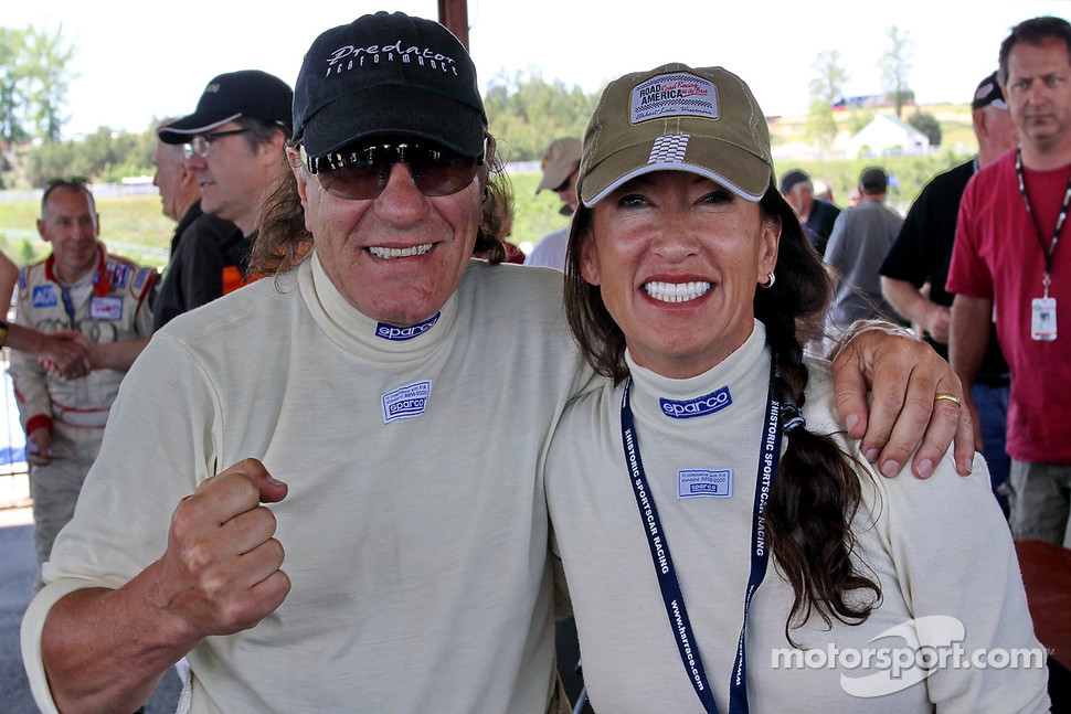 AC/DC's singer Brian Johnson and wife, Brenda